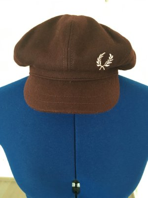Fred Perry Felt Hat blackberry-red-brown red