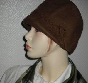 Hunting Hat brown red-brown