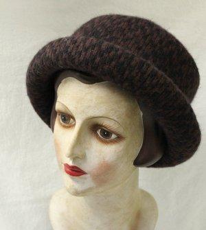 Hut mit Angora Wolle  57cm