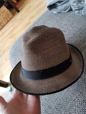 Hut mit elegantem, schwarzem Hutband von Mayser, Größe 58