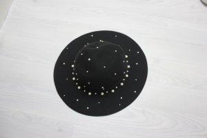 Sombrero negro-blanco