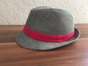 Chapeau rose-gris chanvre