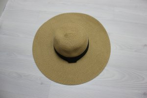 Hat black-sand brown