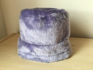 Woolen Hat purple polyester