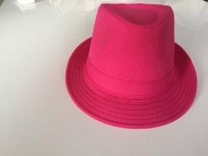 Sombrero rojo frambuesa Poliéster
