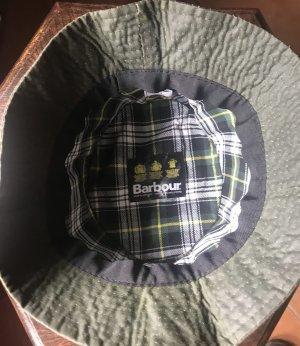 Barbour Cappello impermeabile verde scuro
