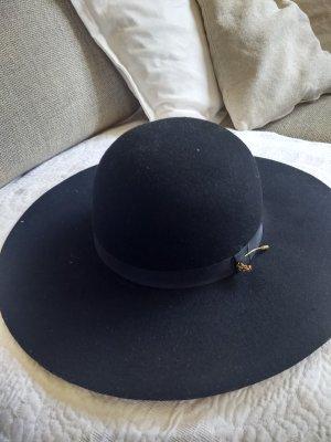 Maison Scotch Wollen hoed zwart