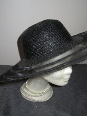 Vintage Chapeau de soleil noir