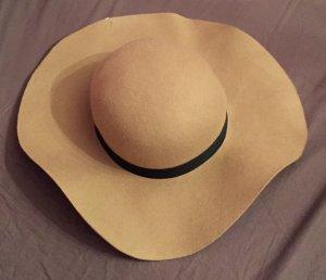 Topshop Chapeau gris brun-beige