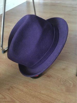 Chapeau en laine multicolore