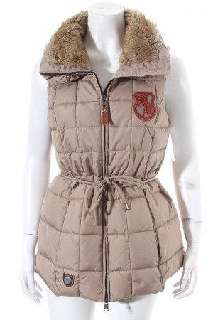 HV Polo Quilted Gilet beige athletic style