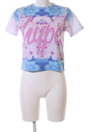 Hype Print Shirt flower pattern casual look
