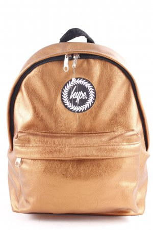 Hype School Backpack bronze-colored-black casual look