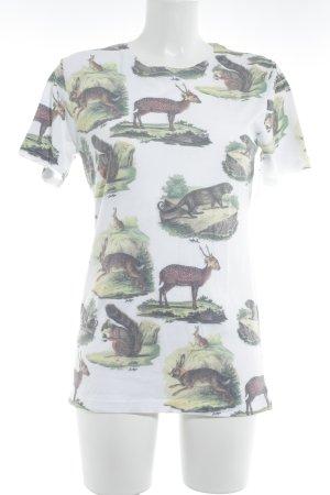 Hype T-Shirt Animalmuster sportlicher Stil