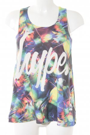 Hype Tanktop abstrakter Druck Casual-Look