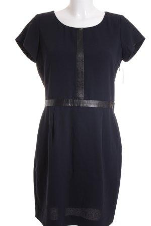 I Code Kurzarmkleid dunkelblau-schwarz Elegant