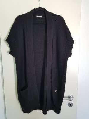 I heart Strickjacke, schwarz