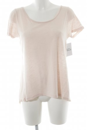 i heart T-Shirt rosé Materialmix-Look