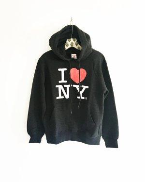 I love NY sweater / hoodie / dunkelgrau / pulli