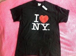 I love NY T-Shirt schwarz Gr.L unisex