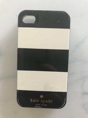Kate Spade Custodia per cellulare nero-bianco sporco Materiale sintetico