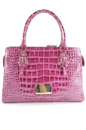 I PONTI Shopper magenta-weiß Farbverlauf Street-Fashion-Look