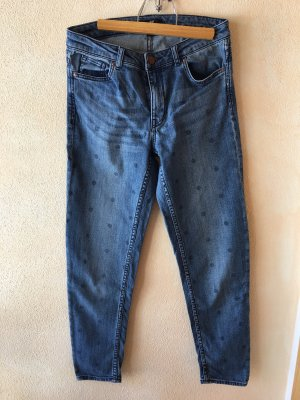 H&M L.O.G.G. Jeans a 7/8 blu fiordaliso