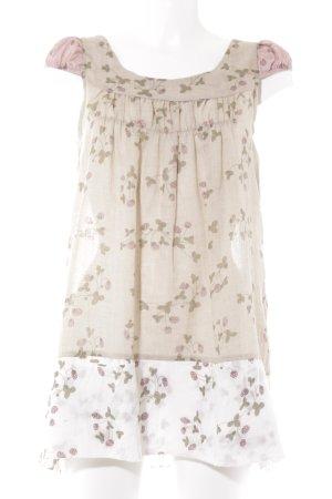 Ian Mosh A-Linien Top florales Muster Boho-Look