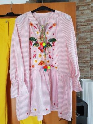 Rhapsody Robe tunique multicolore coton