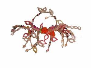 Ibiza Hippie Armband Rocaille Perlen bunt längenverstellbar one size neu