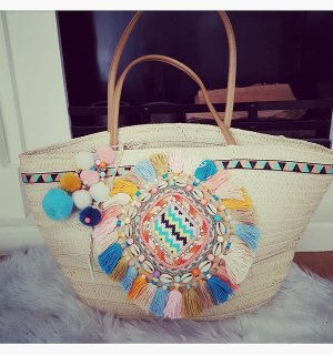 Lookbookstore Basket Bag multicolored