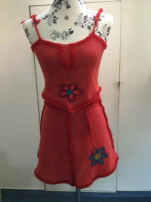 Hippie Dress brick red