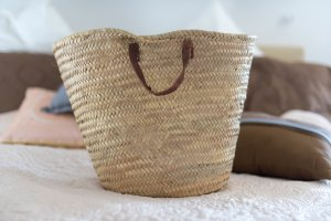 Basket Bag light brown-beige