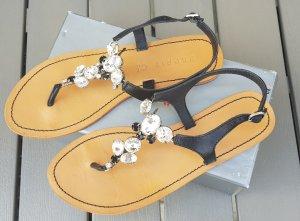 Ibizza-Sandale schwarz