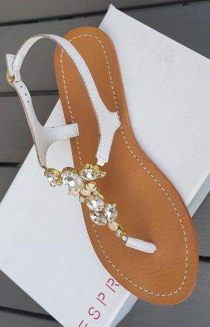 Ibizza-Sandale weiß