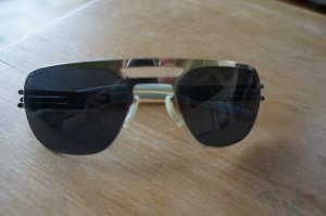 Sunglasses silver-colored