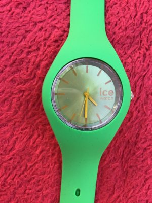 Self-Winding Watch neon green