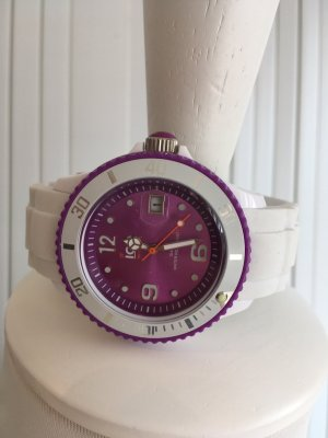 Ice watch Self-Winding Watch white-violet synthetic material