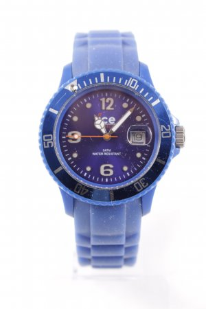 Ice watch Analoguhr blau sportlicher Stil