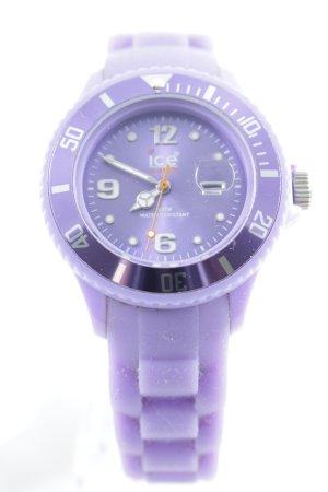 Ice watch Analoguhr blauviolett Casual-Look