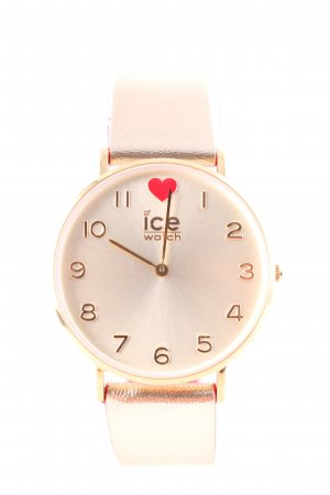 Ice watch Analog Watch gold-colored-bright red business style