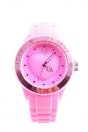 Ice watch Analoguhr pink sportlicher Stil