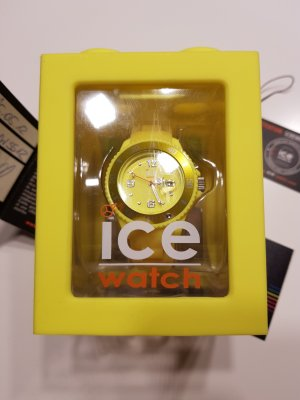 Ice watch Self-Winding Watch yellow synthetic material