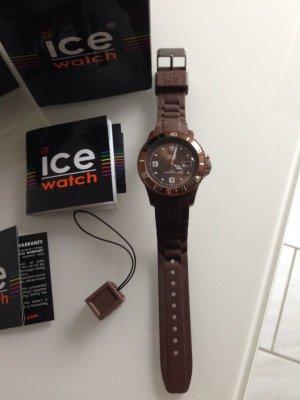 ICE watch Armbanduhr in braun, wie neu