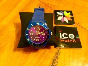 Ice watch Automatikuhr blau Casual-Look