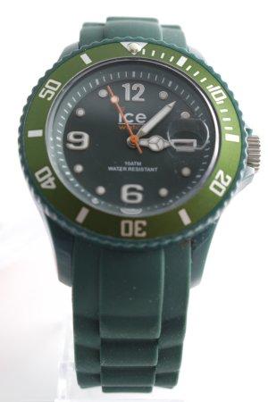 Ice watch Montre automatique vert foncé style décontracté