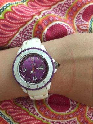 Ice watch Analog Watch white-dark violet