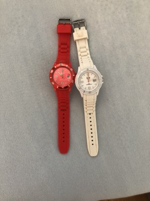 Ice watch Analog Watch white-red