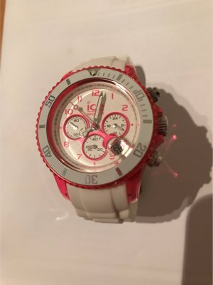 Ice Watch, Chrono party (Weiss/pink)