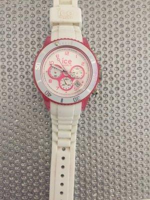 ICE Watch Damenuhr weiß/Pink